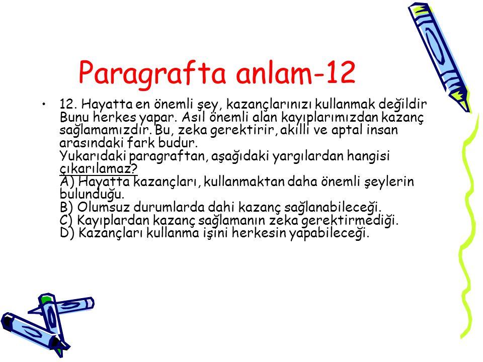 Paragrafta anlam-12