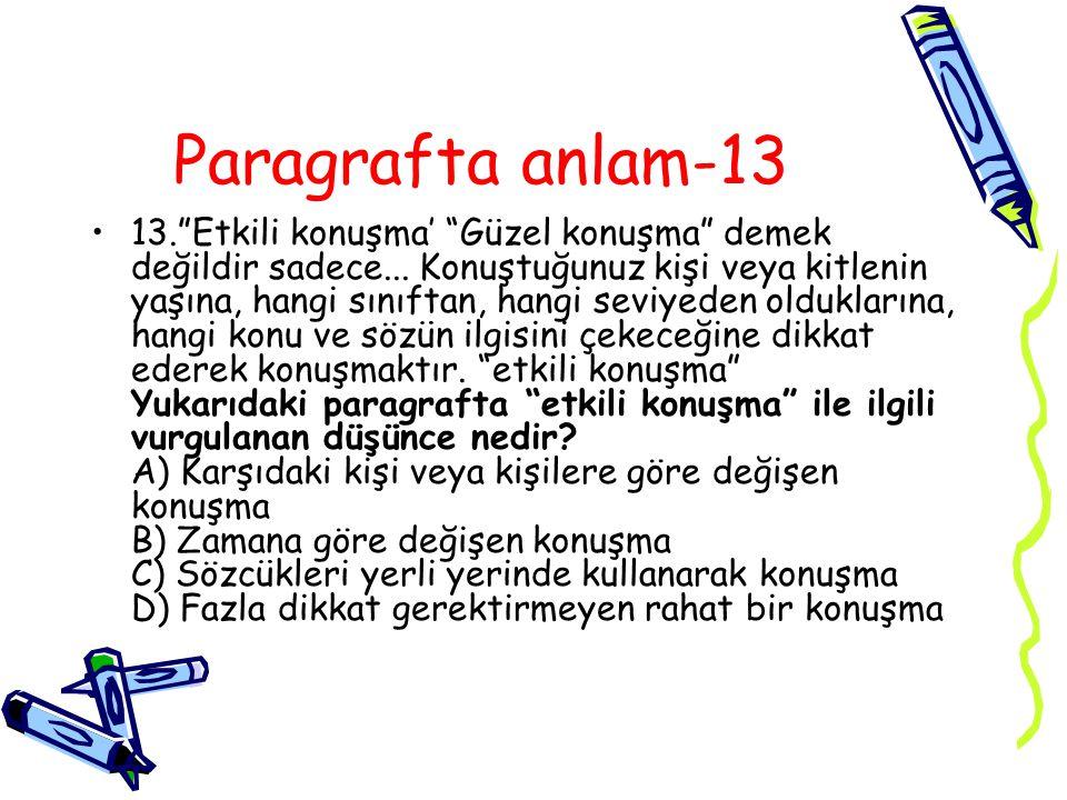 Paragrafta anlam-13