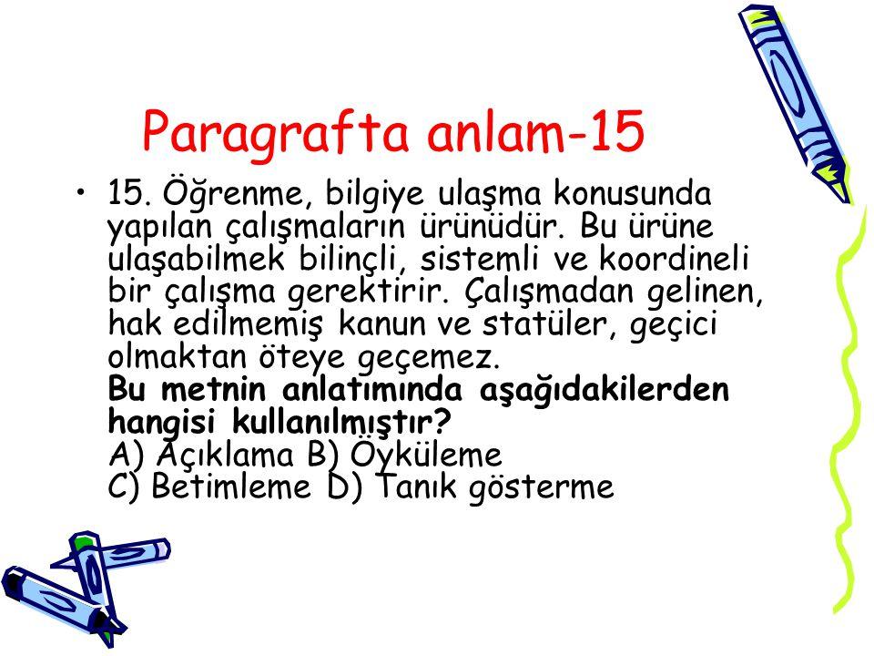 Paragrafta anlam-15