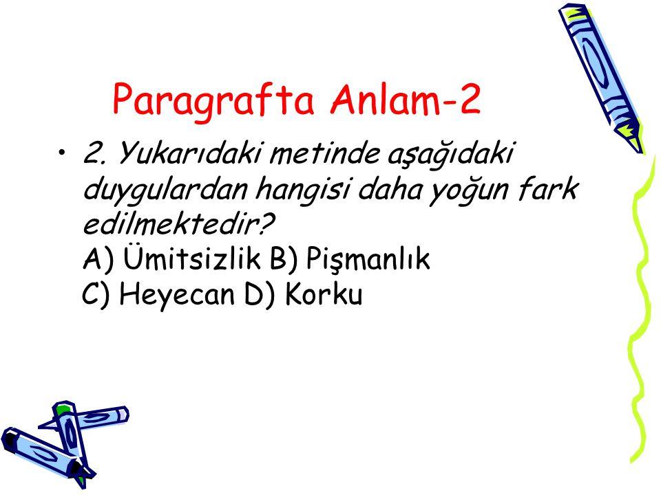 Paragrafta Anlam-2 2.