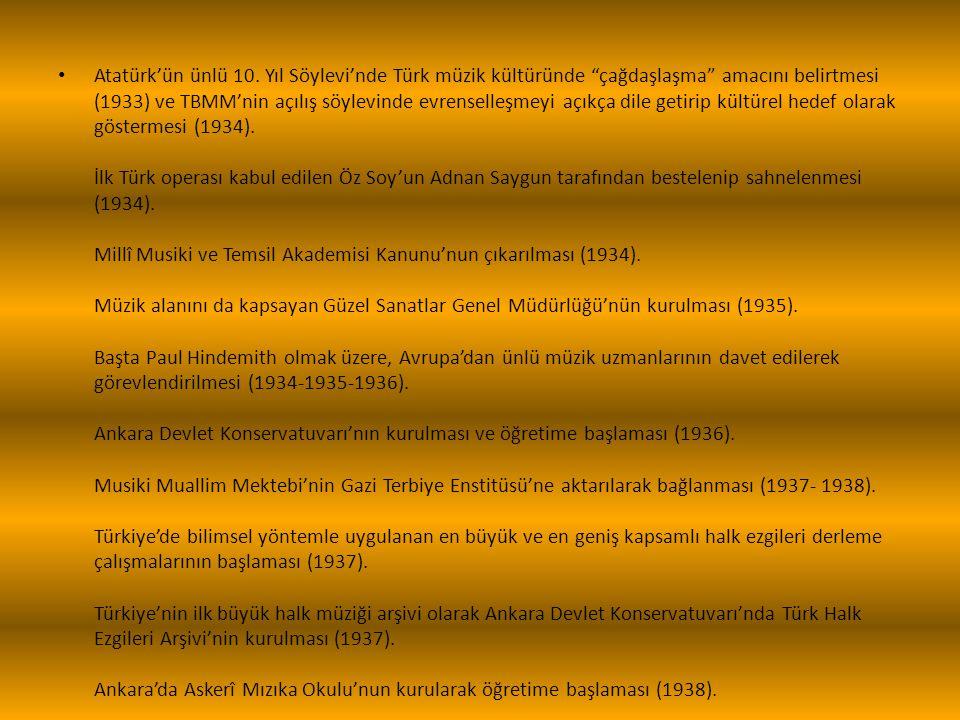 Atatürk'ün ünlü 10.