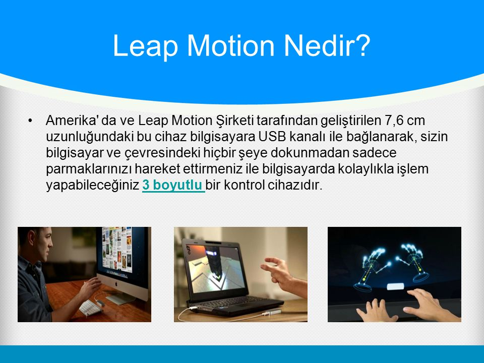 Leap Motion Nedir