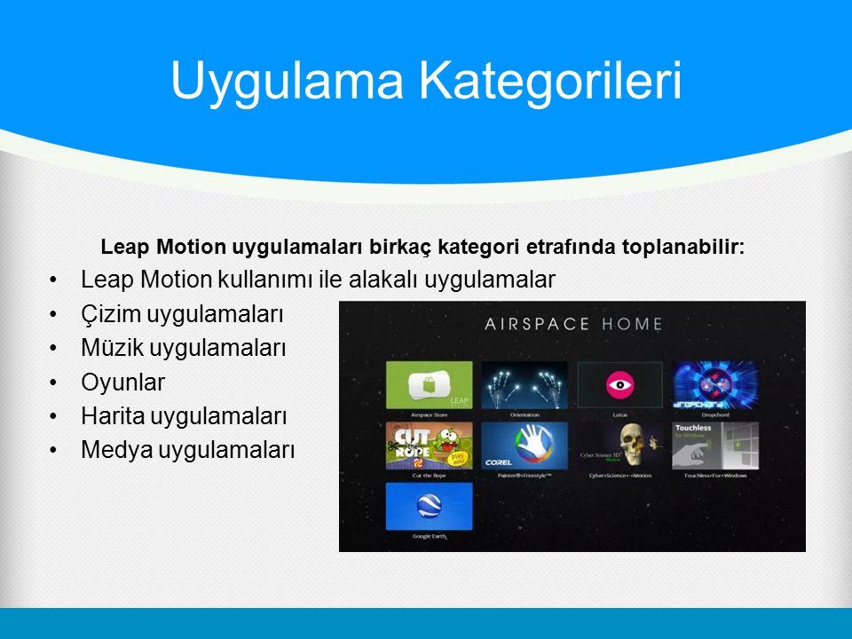 Uygulama Kategorileri