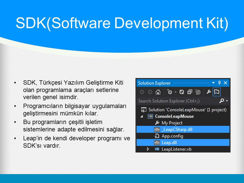 SDK(Software Development Kit)