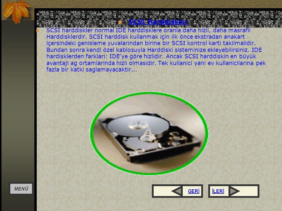 SCSI Harddiskler