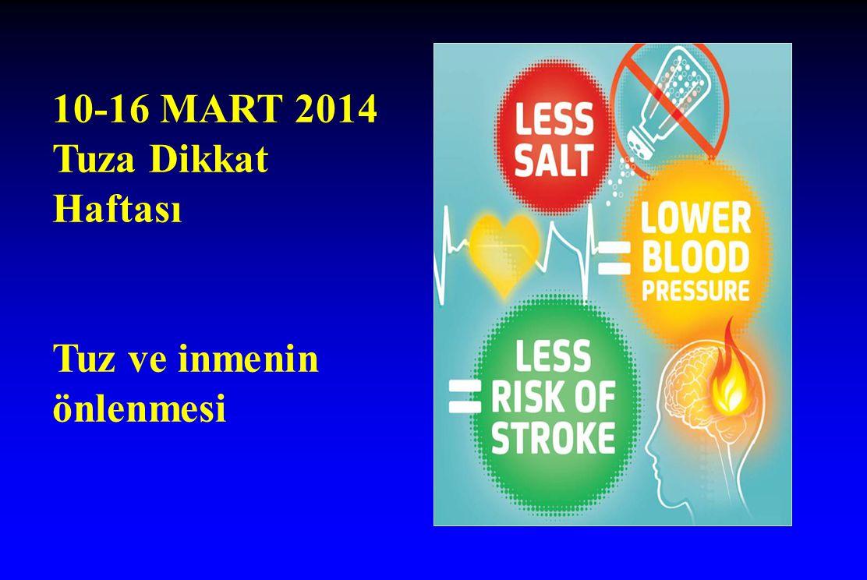 10-16 MART 2014 Tuza Dikkat Haftası