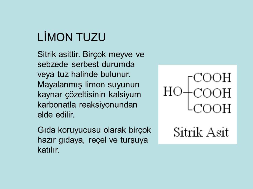 LİMON TUZU