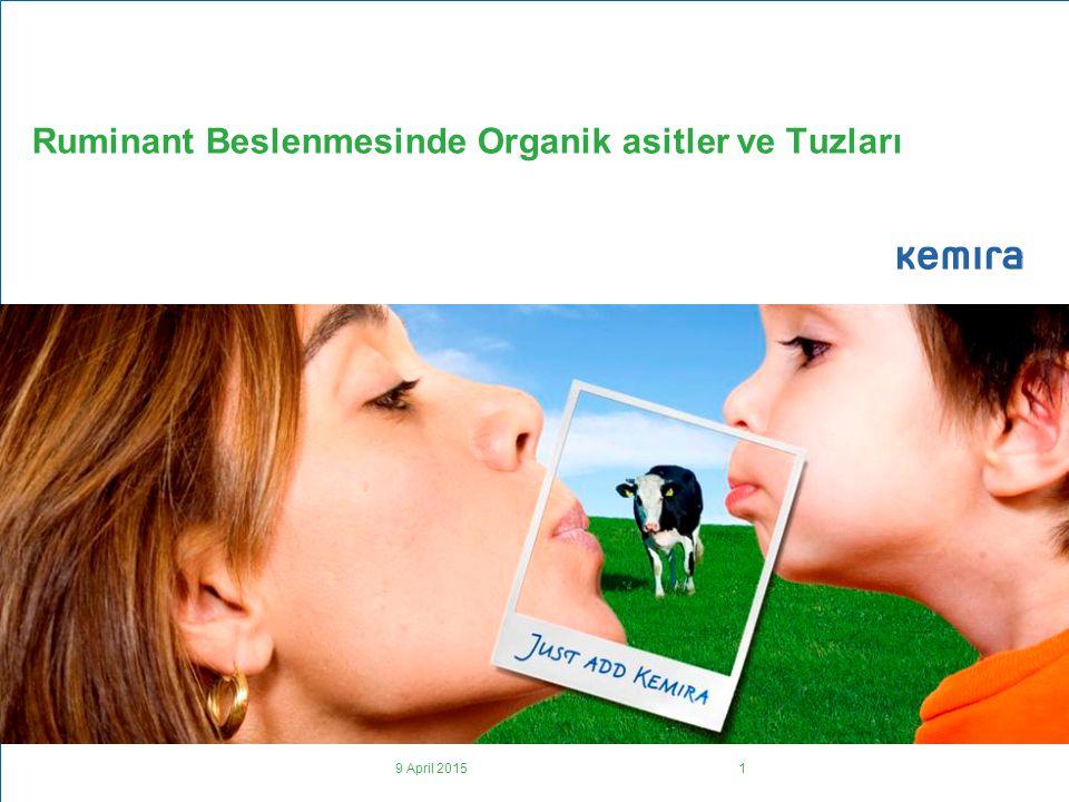 Ruminant Beslenmesinde Organik asitler ve Tuzları