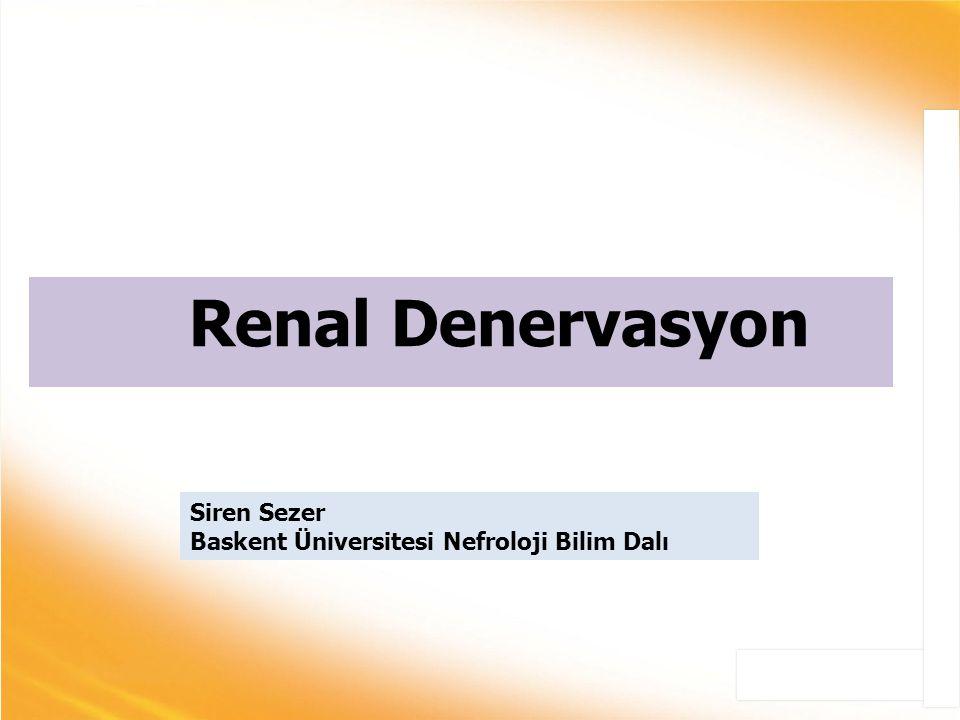 Renal Denervasyon c Siren Sezer