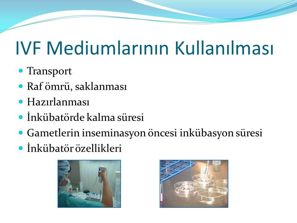 IVF Mediumlarının Kullanılması
