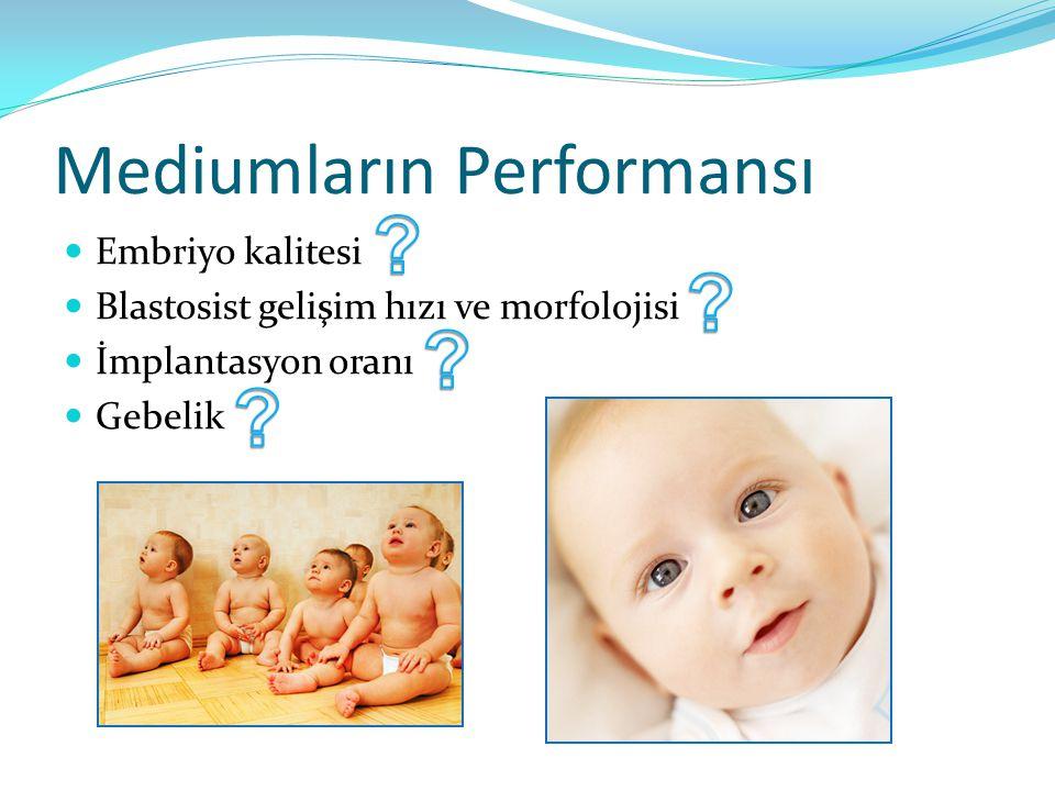 Mediumların Performansı