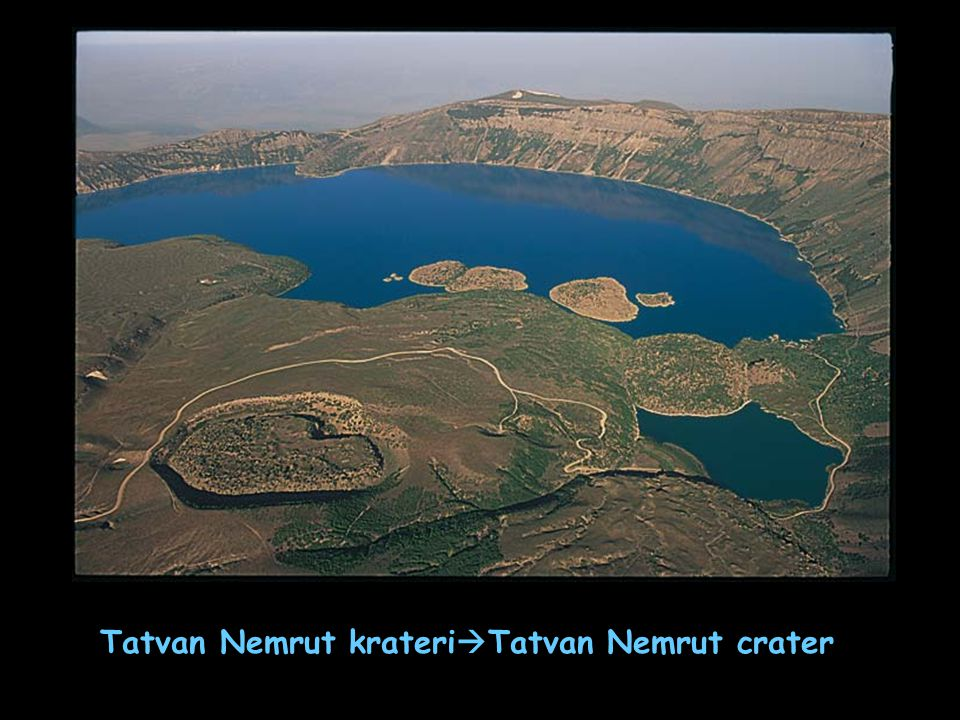 Tatvan Nemrut krateriTatvan Nemrut crater