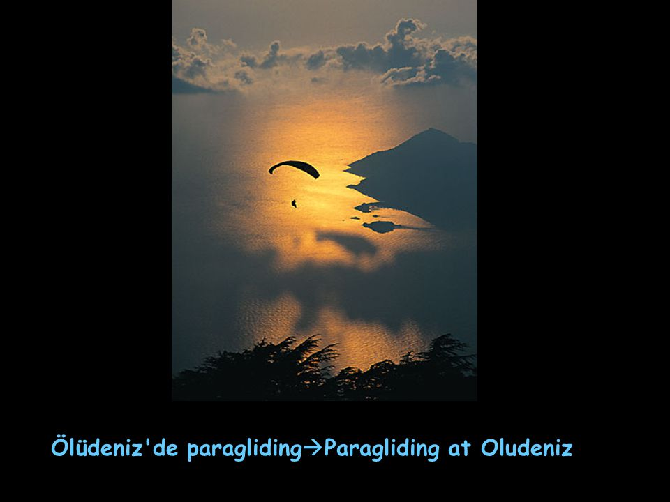 Ölüdeniz de paraglidingParagliding at Oludeniz