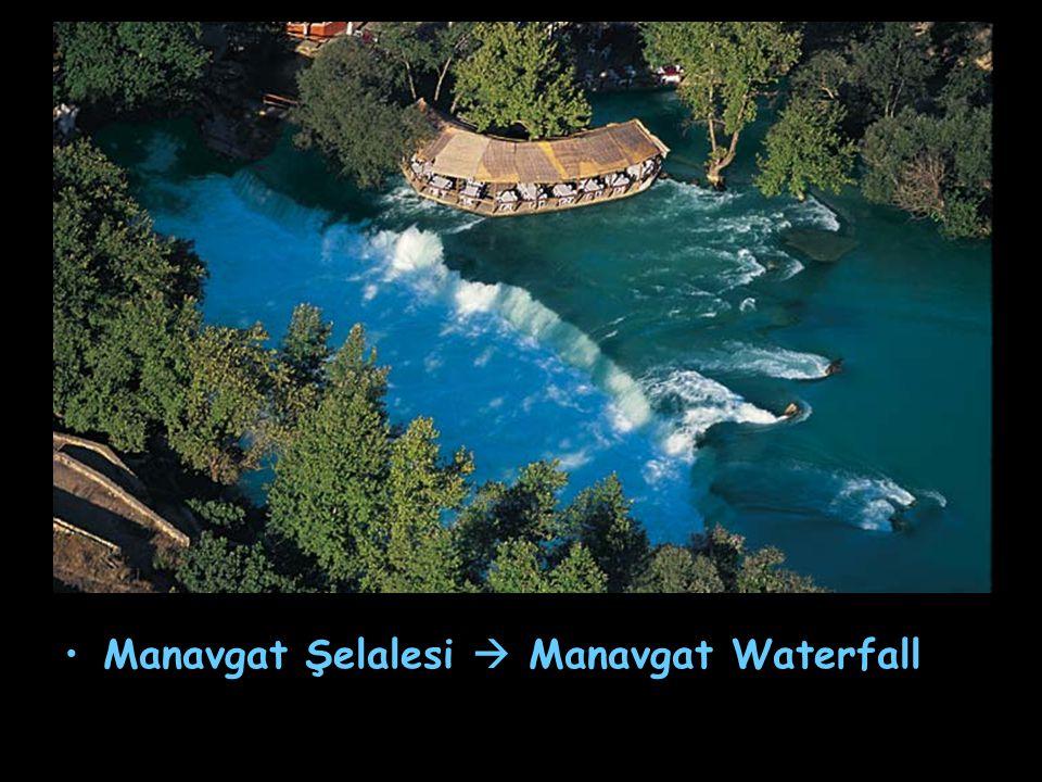 Manavgat Şelalesi  Manavgat Waterfall