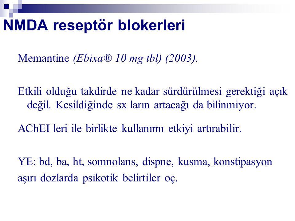 NMDA reseptör blokerleri