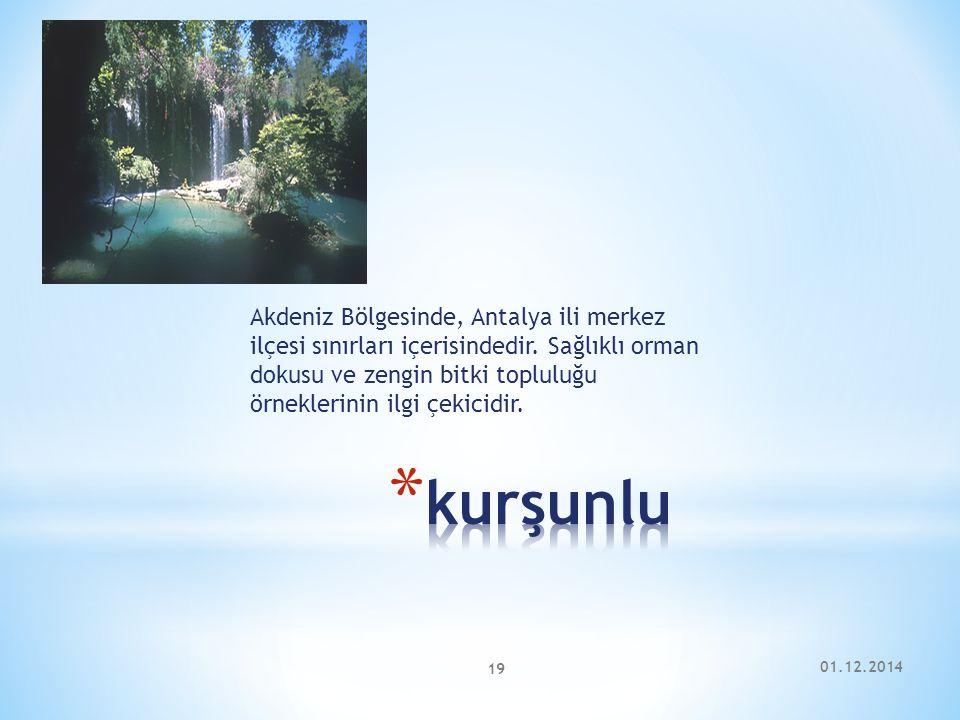 Akdeniz Bölgesinde, Antalya ili merkez ilçesi sınırları içerisindedir