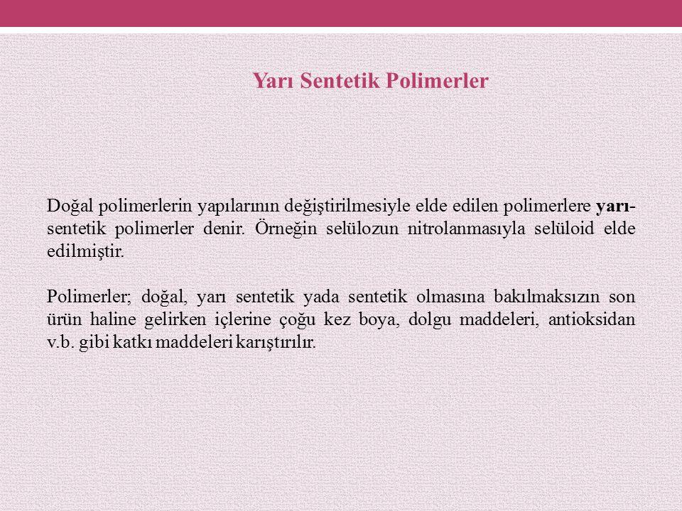 Yarı Sentetik Polimerler