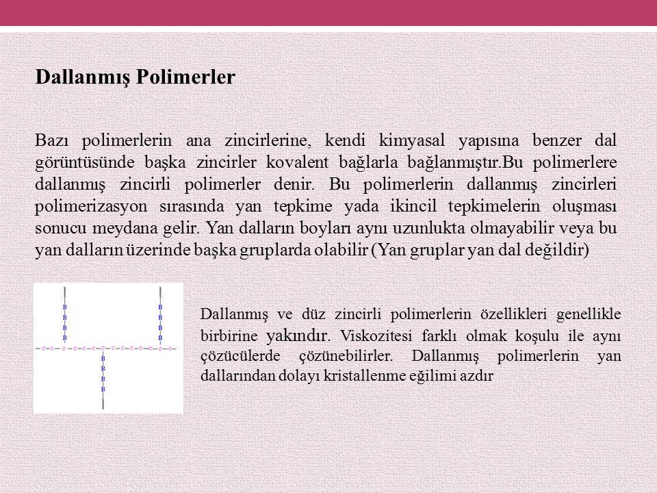 Dallanmış Polimerler