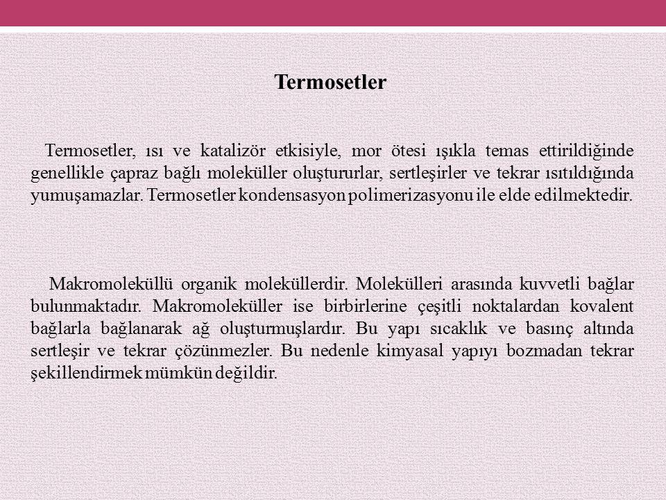 Termosetler