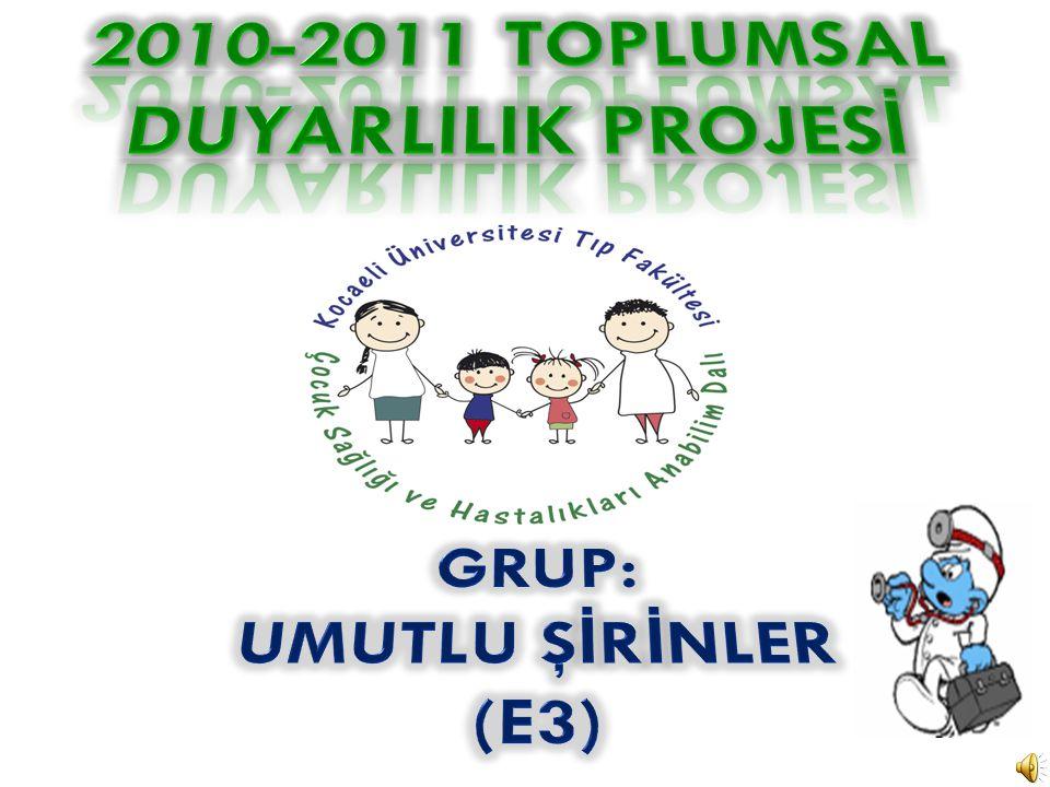 2010-2011 TOPLUMSAL DUYARLILIK PROJESİ