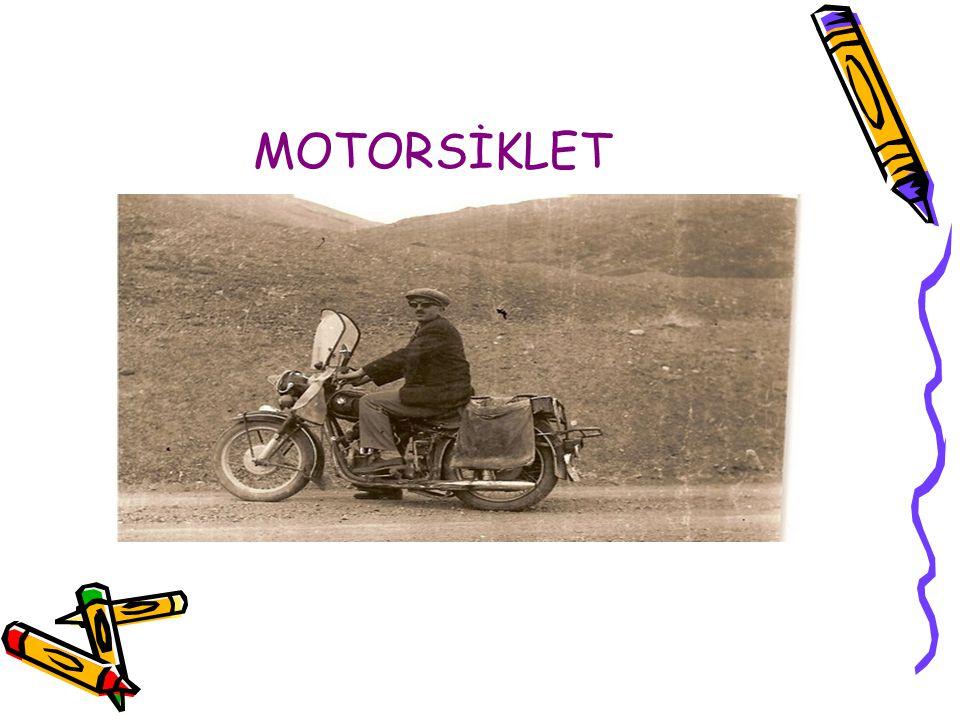 MOTORSİKLET