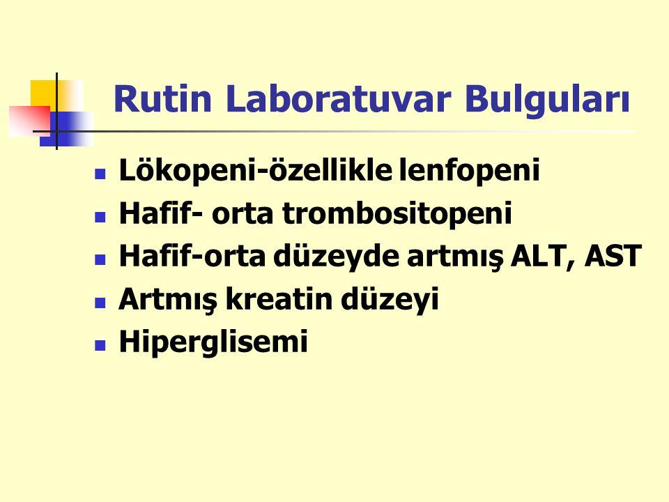 Rutin Laboratuvar Bulguları