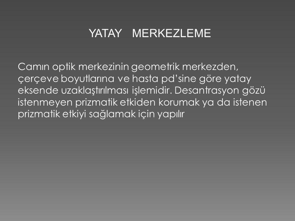 YATAY MERKEZLEME