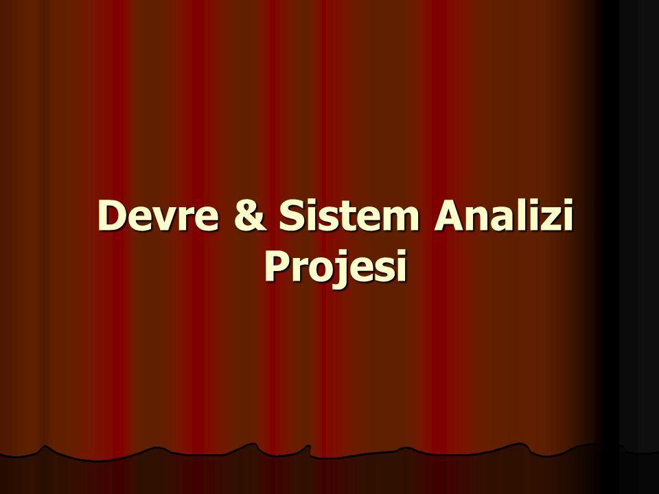 Devre & Sistem Analizi Projesi