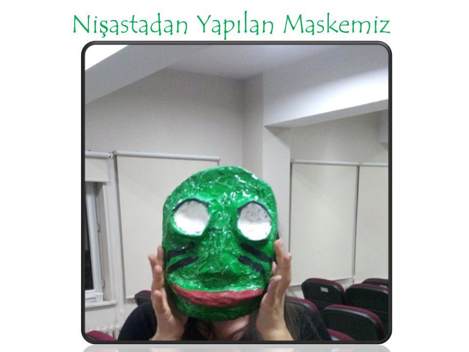 Nişastadan Yapılan Maskemiz