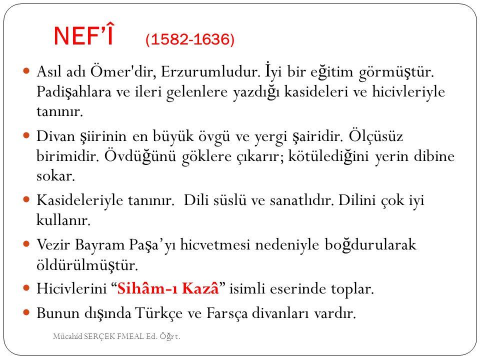 NEF'Î (1582-1636)