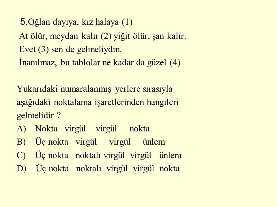 5.Oğlan dayıya, kız halaya (1)