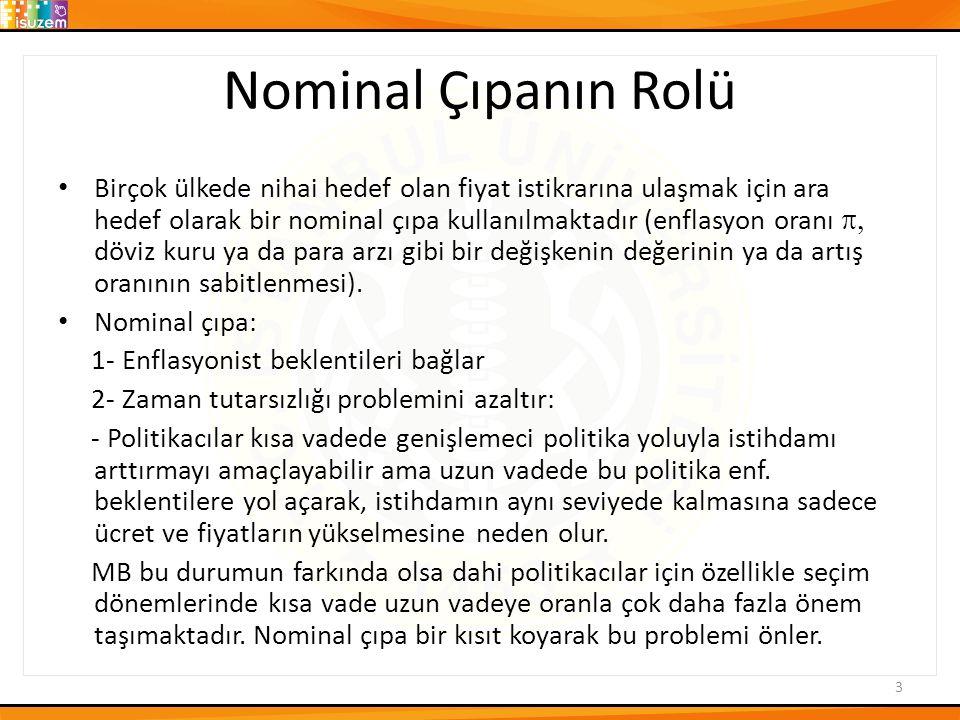 Nominal Çıpanın Rolü