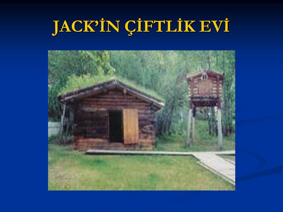 JACK'İN ÇİFTLİK EVİ