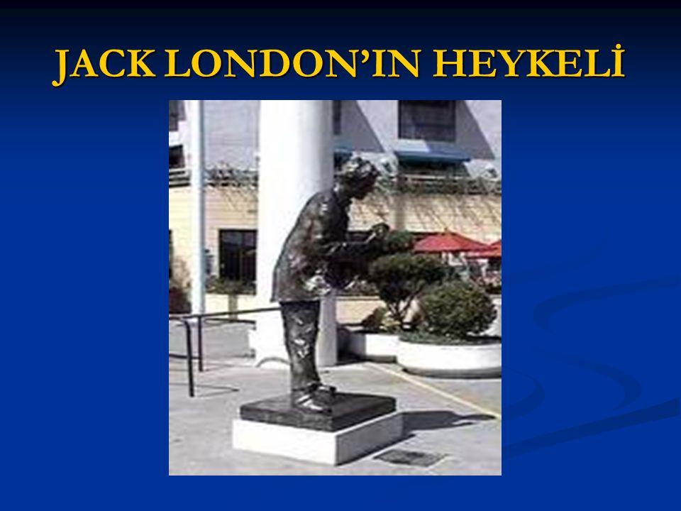 JACK LONDON'IN HEYKELİ