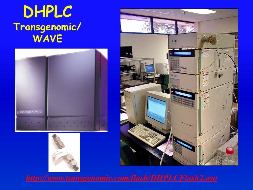 DHPLC Transgenomic/WAVE