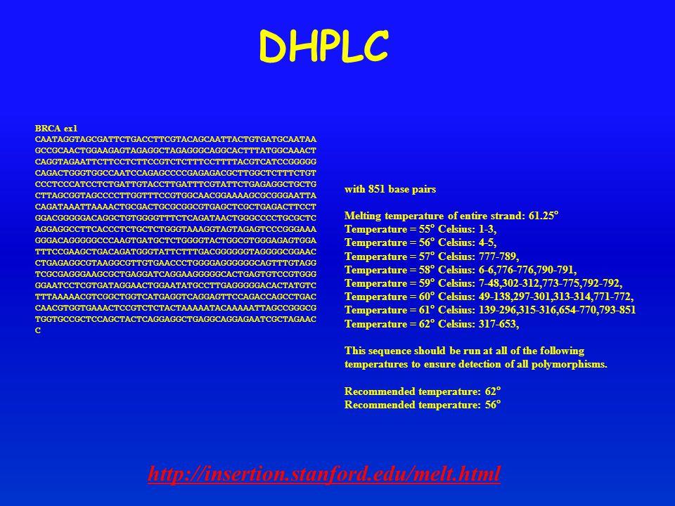 DHPLC http://insertion.stanford.edu/melt.html