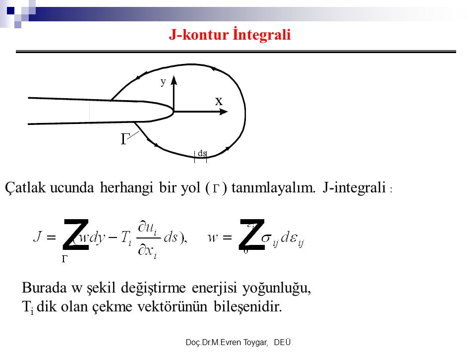 Doç.Dr.M.Evren Toygar, DEÜ