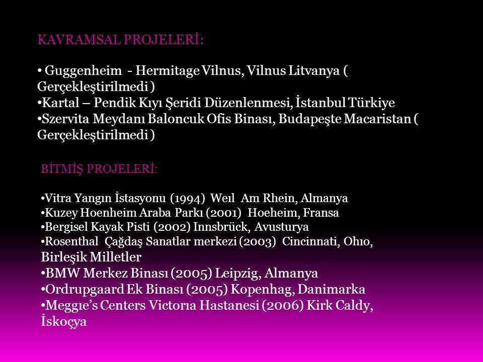 Guggenheim - Hermitage Vilnus, Vilnus Litvanya ( Gerçekleştirilmedi )