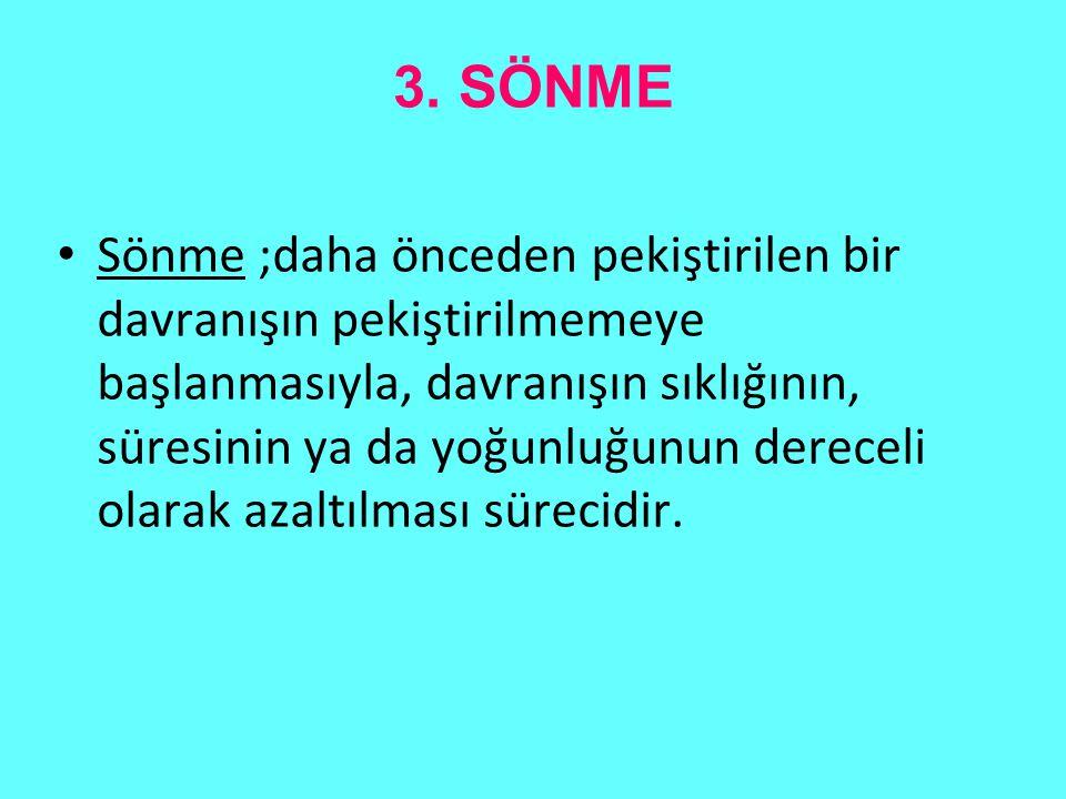 3. SÖNME