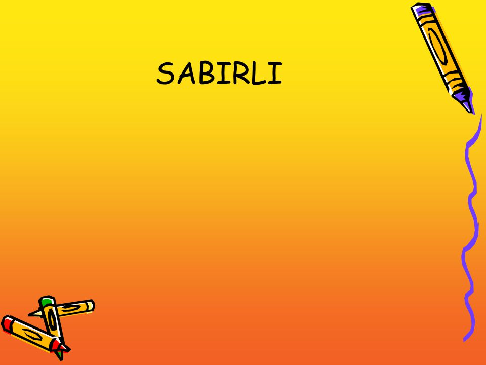 SABIRLI