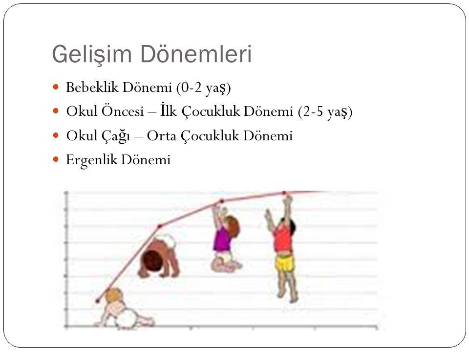 Gelişim Dönemleri Bebeklik Dönemi (0-2 yaş)
