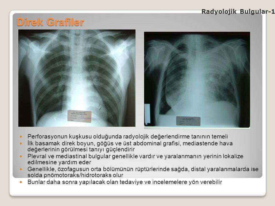 Direk Grafiler Radyolojik Bulgular-1