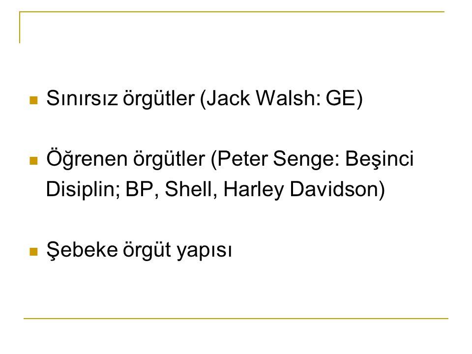 Sınırsız örgütler (Jack Walsh: GE)