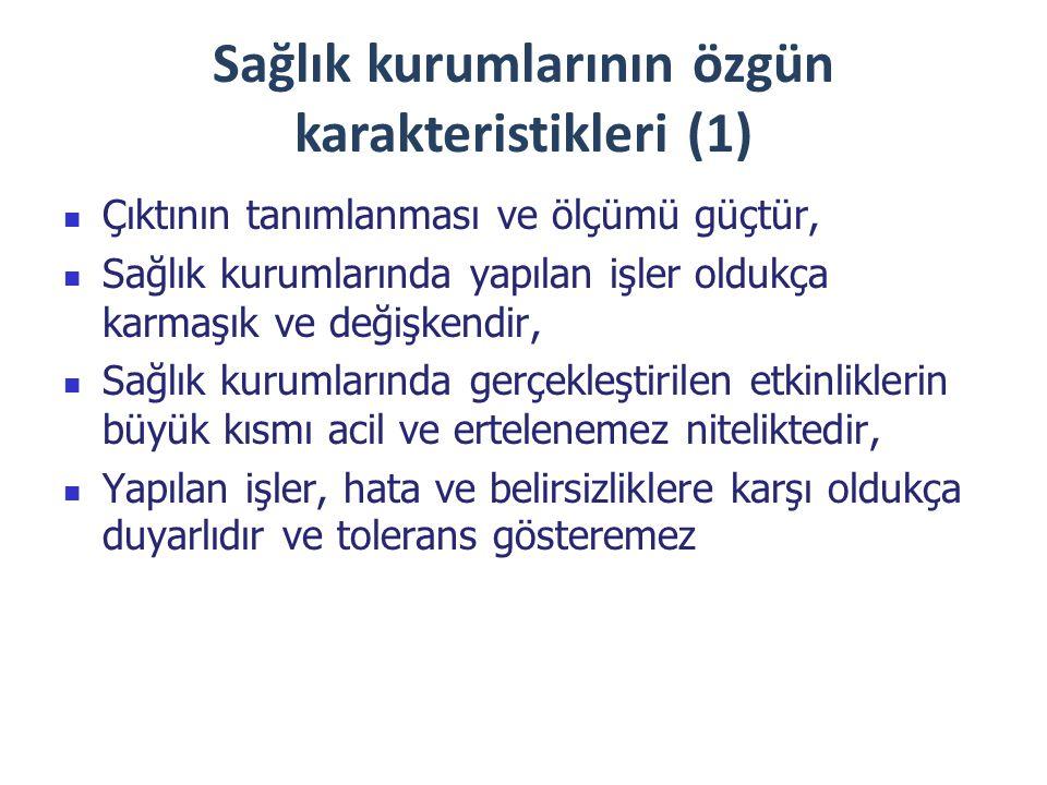 Sağlık kurumlarının özgün karakteristikleri (1)