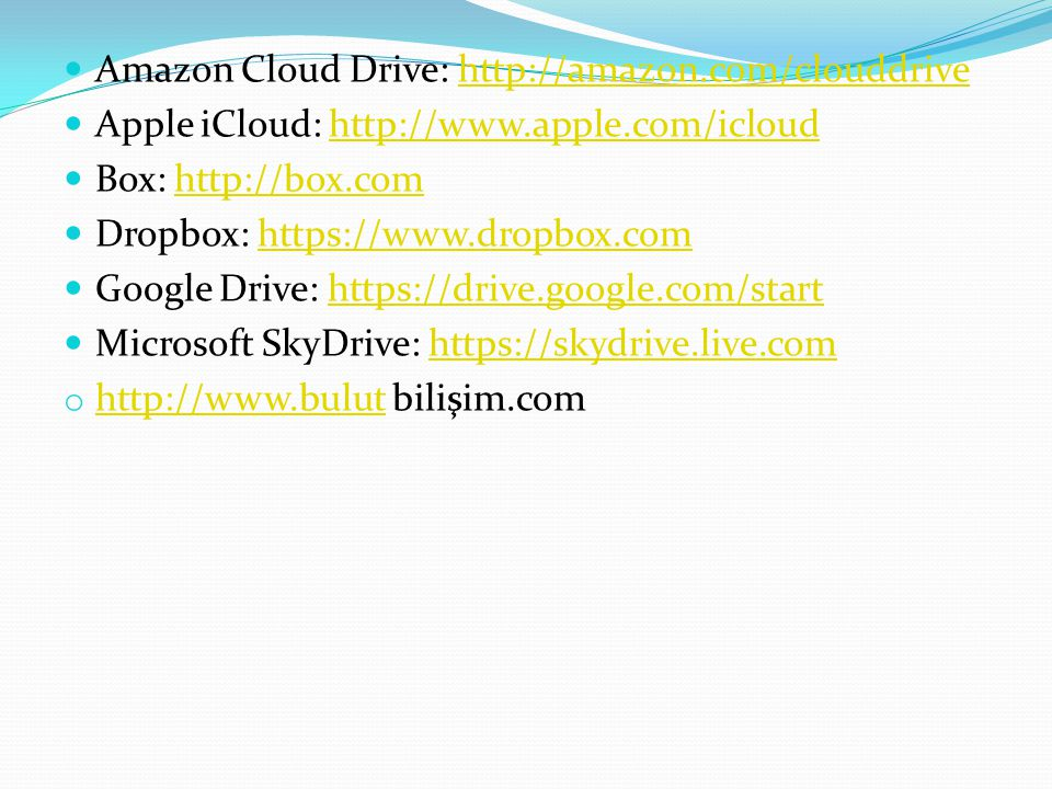 Amazon Cloud Drive: http://amazon.com/clouddrive