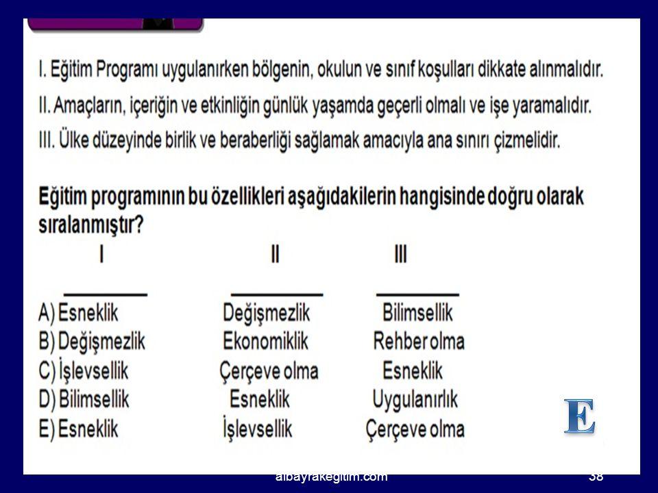 E albayrakegitim.com