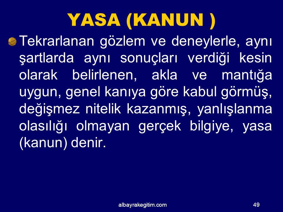 YASA (KANUN )