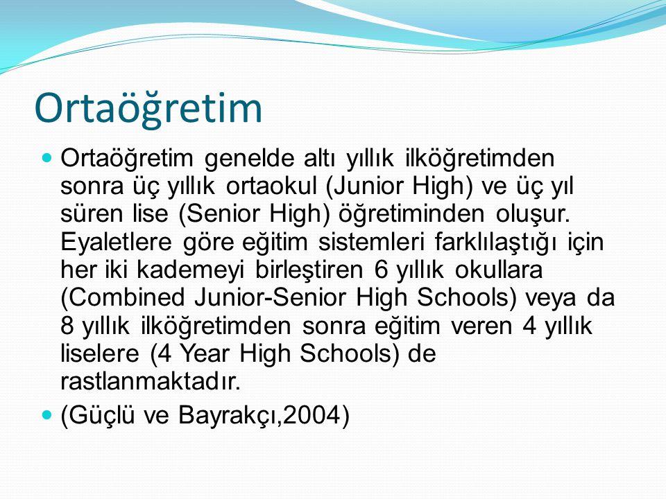 Ortaöğretim