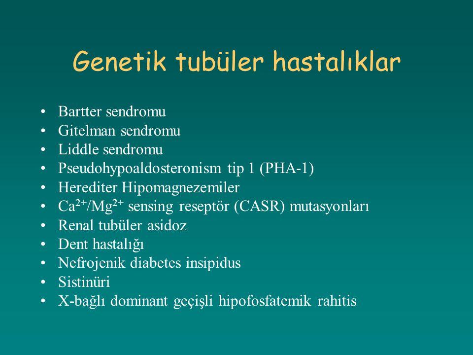 Genetik tubüler hastalıklar