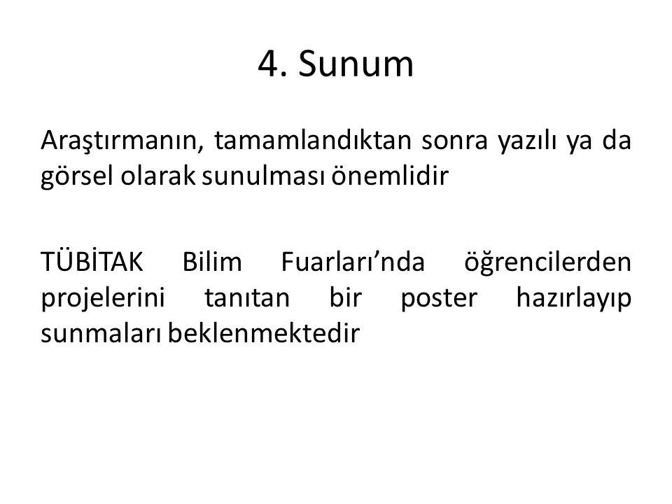 4. Sunum